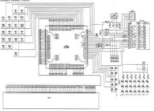 Aiwa CDCX 1765M Schematic Diagram (Main  Front) in PDF