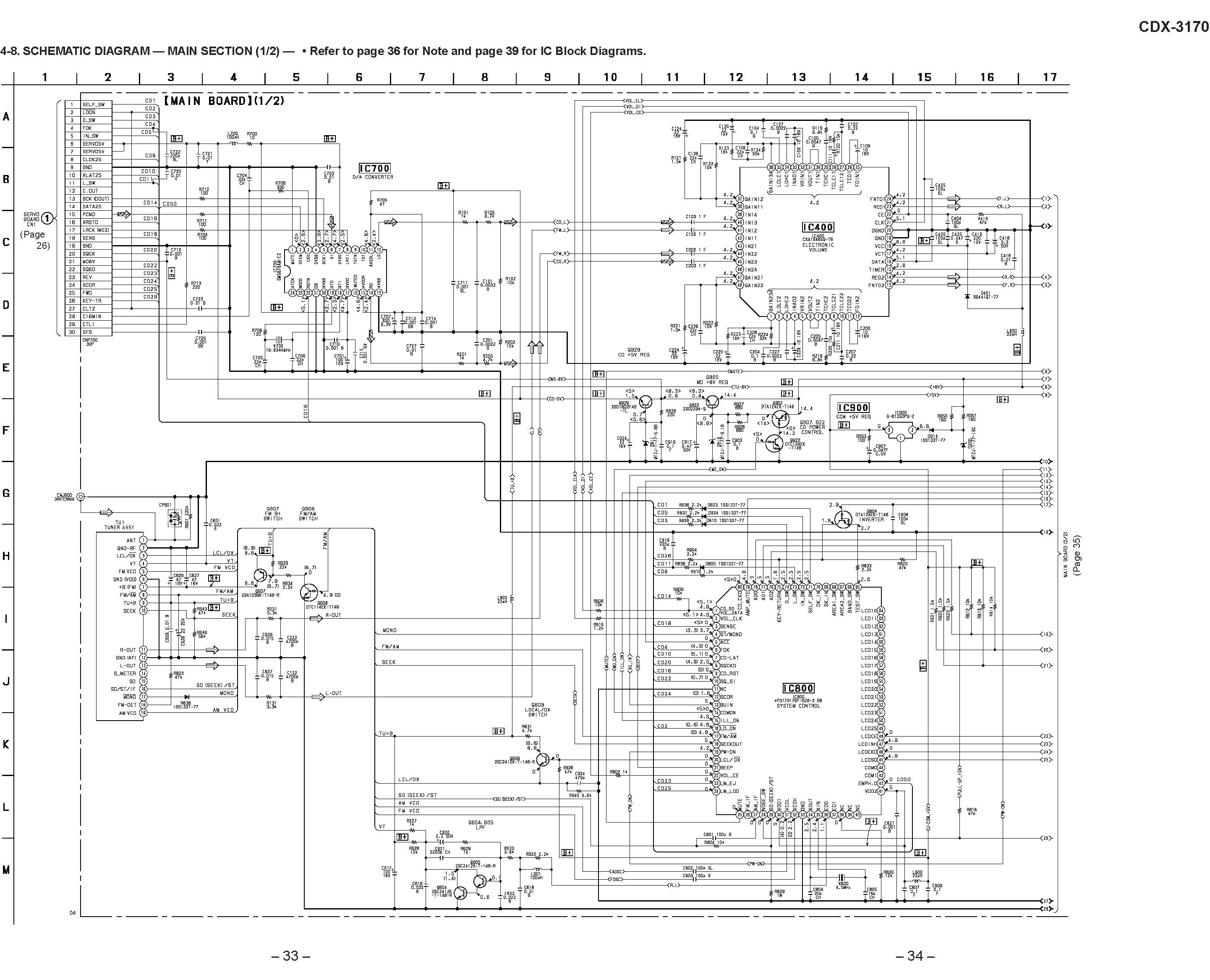 Sony Cdx Schematic Diagram In Format E