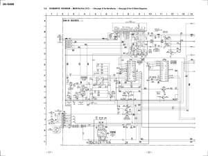 Sony XR1800R Schematic Diagram in PDF format =E