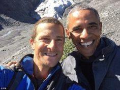 Беър Грилс и президент Обама