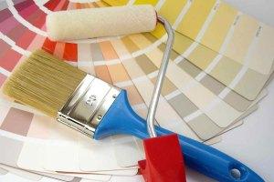 боядисване с валяк и четка