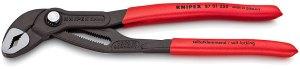 Клещи раздвижни с функция гаечен ключ Cobra® фосфатирани, сиви 250 mm, 87 01 250, KNIPEX