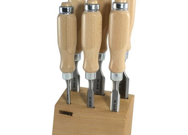 Класически длета с дървени ръкохватки, усилени със стоманен пръстен