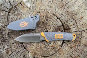 Компактен нож Bear Grylls COMPACT FIXED BLADE - фиксиран нож за екстремен туризъм