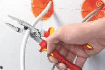 Клещи Книпекс електротехнически с ножица