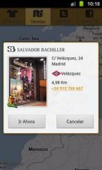 Aplicación móvil Salvador Bachiller
