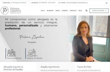abogada de familia Paloma Zapatero