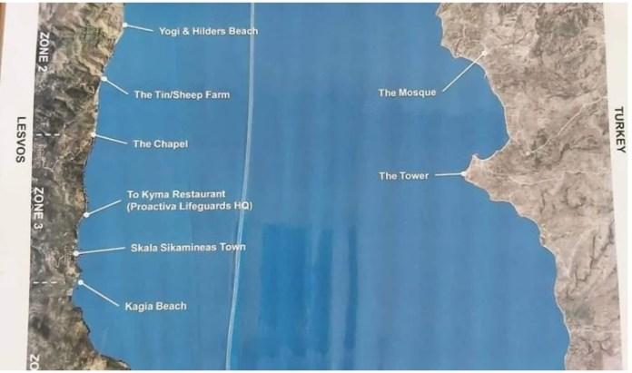 ΜΚΟ στη Λέσβο έκανε ειδικό χάρτη για να διευκολύνει την εισβολή των αλλοδαπών