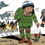 Ο Carlos Latuff για τη θηριωδία στη Γάζα