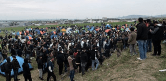 Η στιγμή που αλλοδαποί εισβάλλουν στο Ορμένιο Έβρου – ΌΛΟΙ τους άνδρες στρατεύσιμης ηλικίας