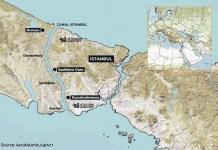 Η Συνθήκη του Montreux αμφισβητείται από την κατασκευή του καναλιού της Κωνσταντινούπολης