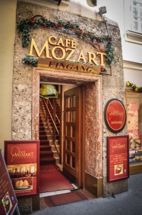 Your have the vast selection of all things Mozart, including not just one but two Mozart museums