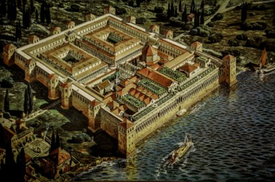 This was how the city looked back in Diocletian's days