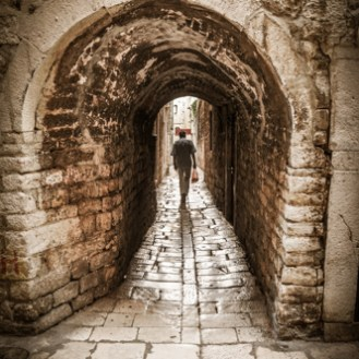 Split invites to get lost in its labyrinthine streets