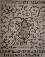 Roman mosaic from the UNESCO Euphrasian Basilica in Poreč