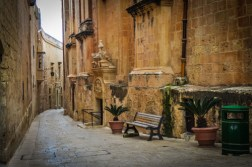 Because of the great earthquake in 1693, much of the architecture we see today in Mdina is baroque