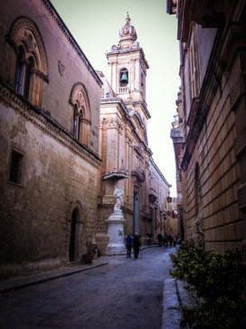 "Nowadays, Mdina is lovingly called ""The Silent City"" and it's postulated that even in the busy tourist season, the streets of this fortified, yellow sandstone jewel are quiet"
