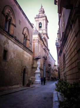"""Nowadays, Mdina is lovingly called """"The Silent City"""" and it's postulated that even in the busy tourist season, the streets of this fortified, yellow sandstone jewel are quiet"""
