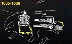 The fortification of Valletta over the years 1635-1669