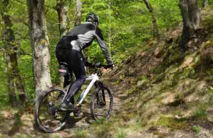 You don't have to ride to the Alps to do some challenging mountain biking!
