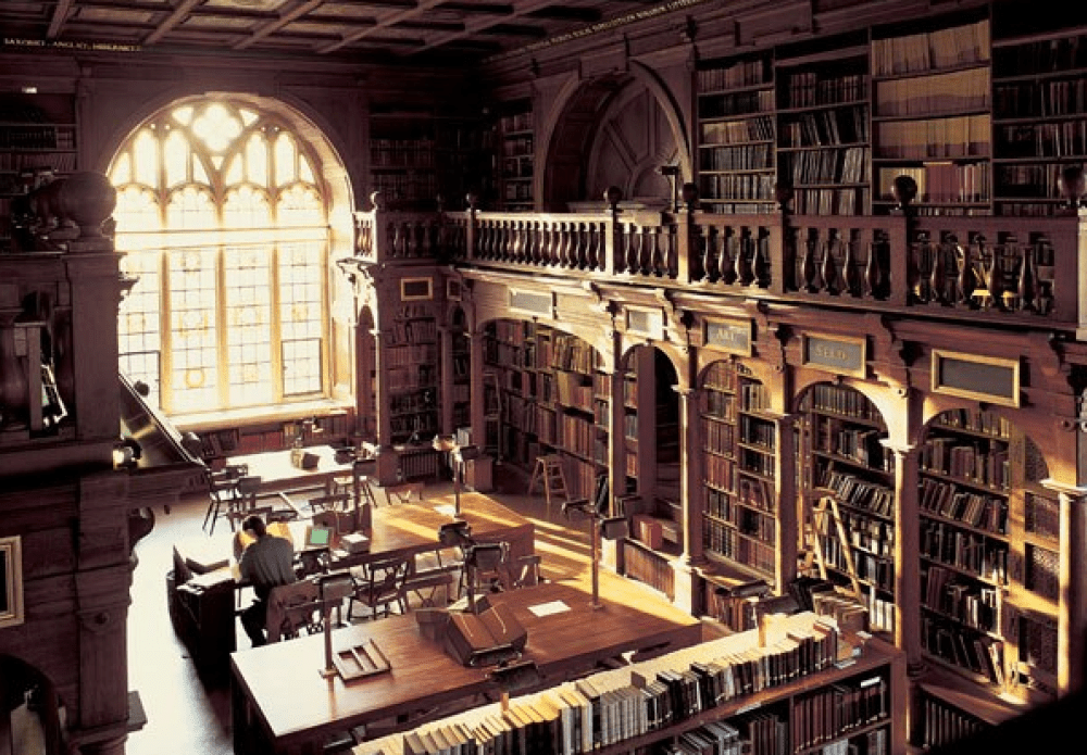 Harry Potter's Bodlean Library
