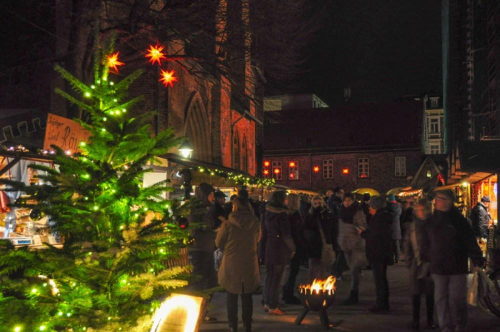 Historical Christmas Market in Lübeck