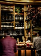 The pintxos are best in a happy marriage with some local wine