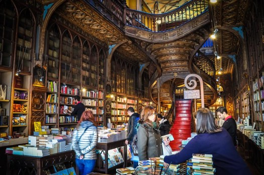 Livraria Lello has an entrance fee, but it's subtracted from your purchase in the bookshop