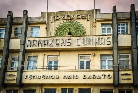 The charming Art Deco building of Armazens Cunhas