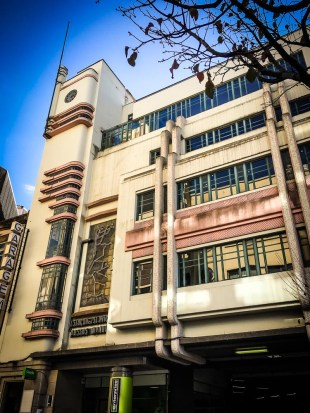 Have you ever parked your car in an Art Deco garage? Me neither!!