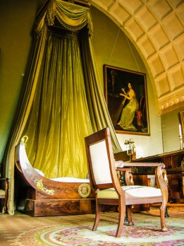 Napoleon's bedroom was actually never used by the Emperor as he stayed for only two hours. Photo courtesy of Château de Serrant