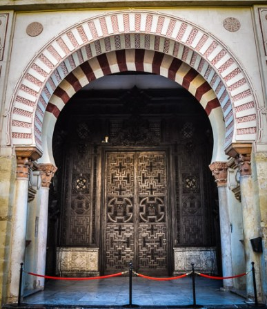 The entrance to the Mezquita