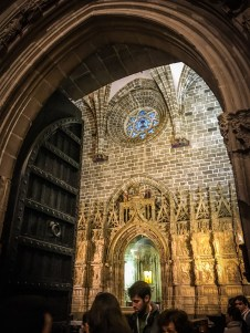 Sometimes, great treasures are kept in modest and unassuming places: La Capilla del Santo Cáliz in the Cathedral of Valencia