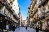 Rua da Flores is a pedestrianised street with lots of cafés and shops
