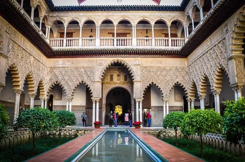 Moorish architecture perfected the art of patios and fountains