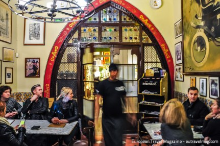 When you step into the pub, you're transported back in time