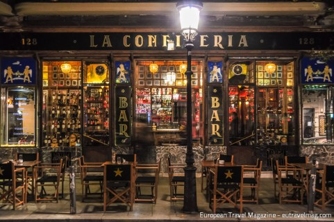 La Confiteria means The Confectioner and it certainly is eye-candy for any Art Nouveau lover!