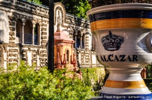 The gardens of the Alcázar were made to resemble paradise on earth