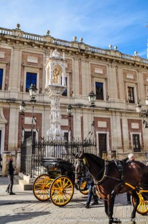 The Renaissance Archivo General de Indias is also on the UNESCO World Heritage list