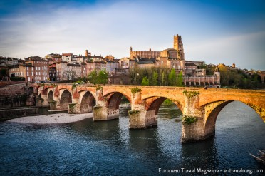 The beautiful town of Albi has a turbulent history
