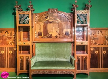 The museum has a whole section dedicated to Modernisme architecture, art and furniture
