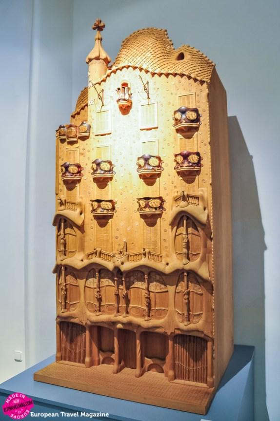 Model of Casa Batlló