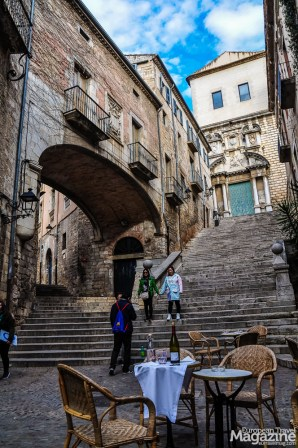 Girona has survived twenty-five sieges but luckily many of the original structures still stand today