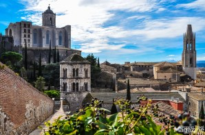 Our favourite thing to do in Girona was to climb and walk the ancient walls