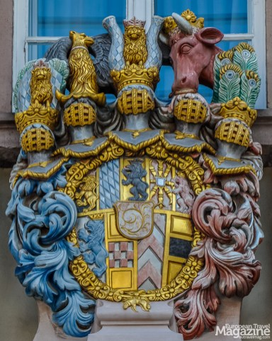 Coat of Arms on Heidelberg Town Hall