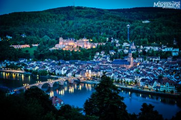 """The panoramic walkway """"Philosophenweg"""" on the other side of the river has the most amazing views to the castle and old town"""