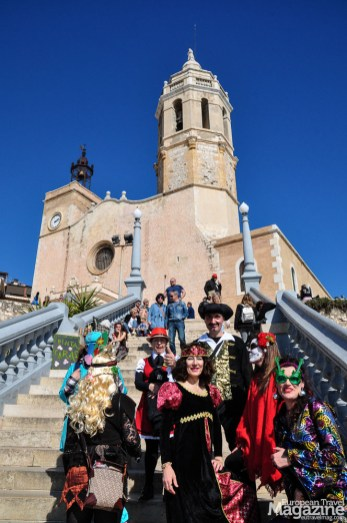 The nightlife of Sitges is internationally famed as well as its seven popular festivals throughout the year, like the Carnival