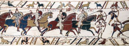 La Chanson de Roland was read out to the army before the Battle of Hastings in 1066 (Wikimedia Commons)