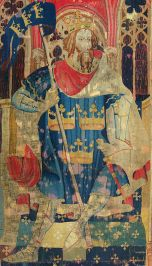 The romantic, literary movement, that was called Matter of Britain, contained legends of King Arthur (from Wikimedia Commons)