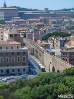 """the secret elevated """"Passetto di Borgo"""" actually does lead from the Castel Sant'Angelo to the Vatican City"""